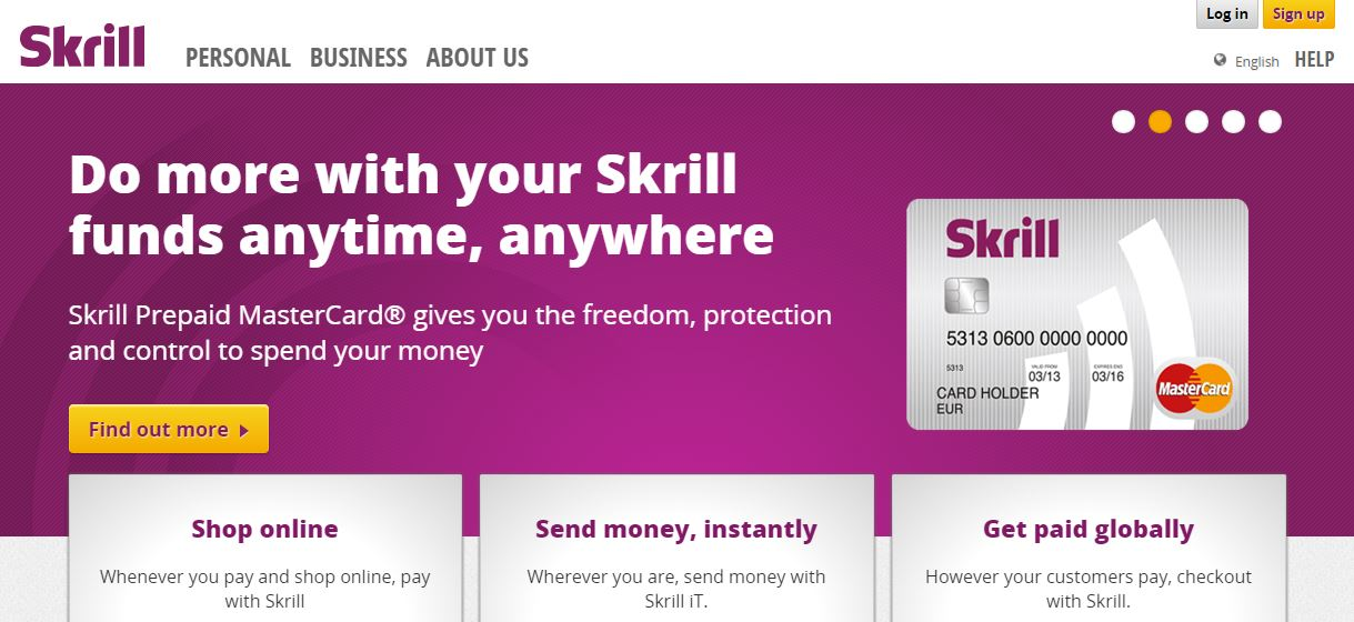 Binary options broker skrill