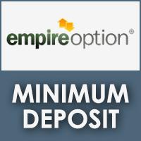 EmpireOption Minimum Trade