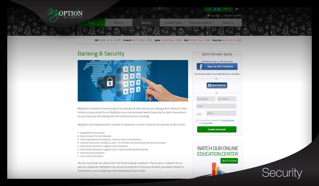 MyOption Scam Inspection
