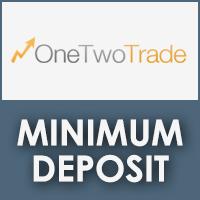 OneTwoTrade Minimum Deposit Review