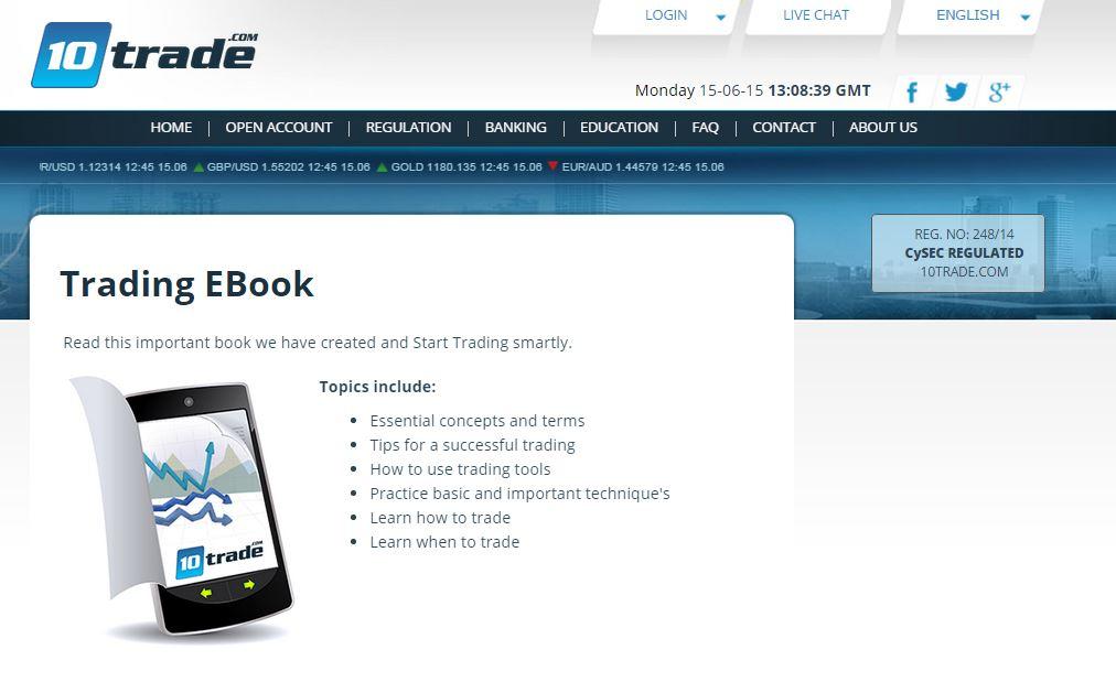 10Trade Trading EBook