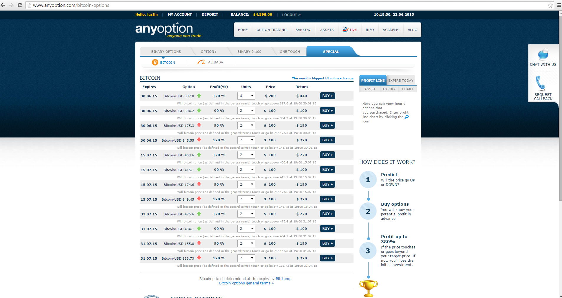 find binary options trading platform