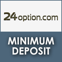 24 binary options minimum deposit