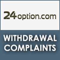 Binary option withdrawal problems