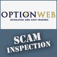 OptionWeb Scam Test