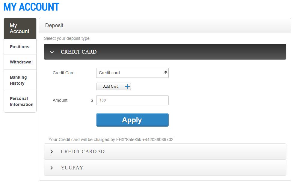 Binary options $25 minimum deposit