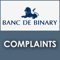 Banc De Binary Complaints
