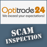 OptiTrade24 Scam Inspection
