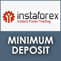 InstaForex Minimum Deposit