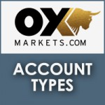 OX Markets Account Types
