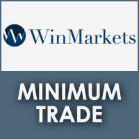 WinMarkets Minimum Trade