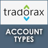 Tradorax Account Types