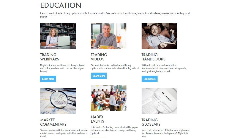 Nadex Education Center