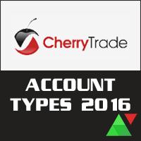 New CherryTrade Account Types 2016