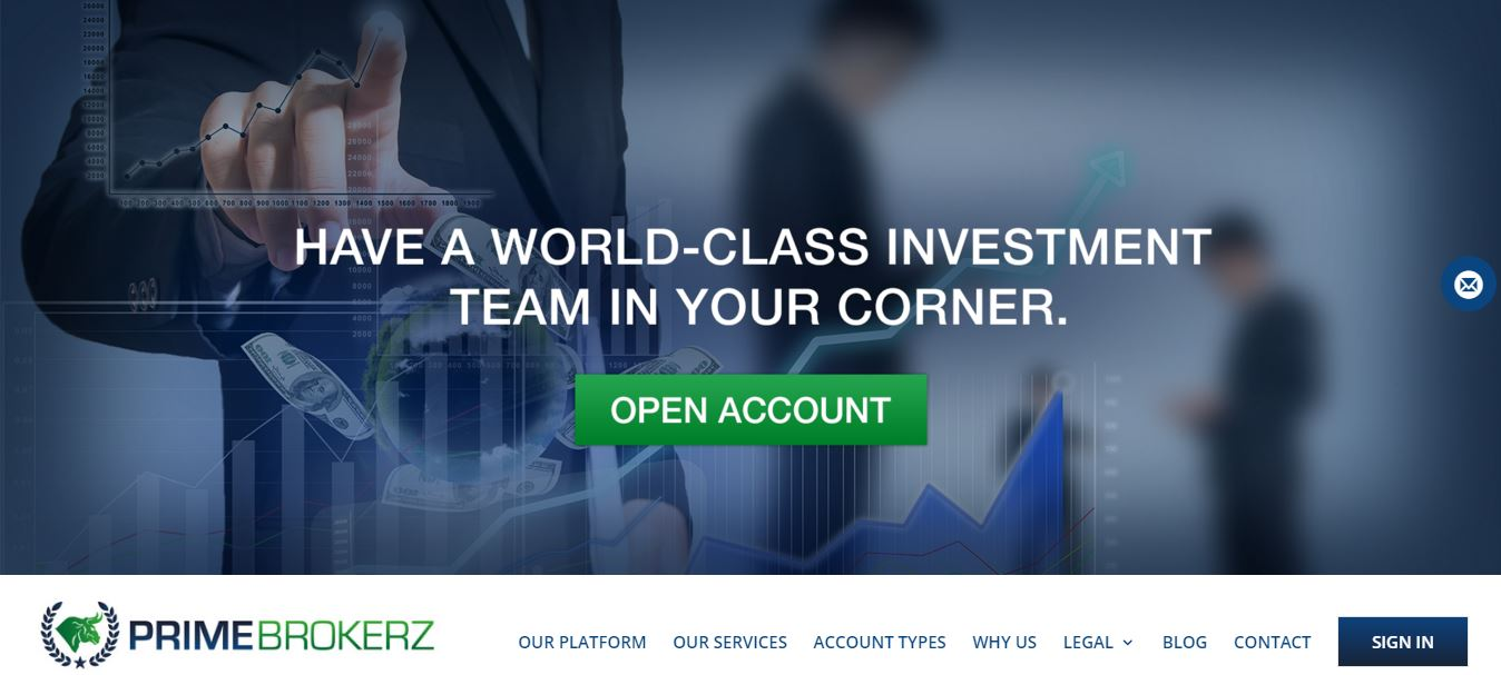 Prime Brokerz Home Page
