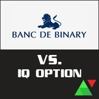 Banc De Binary vs. IQ Option