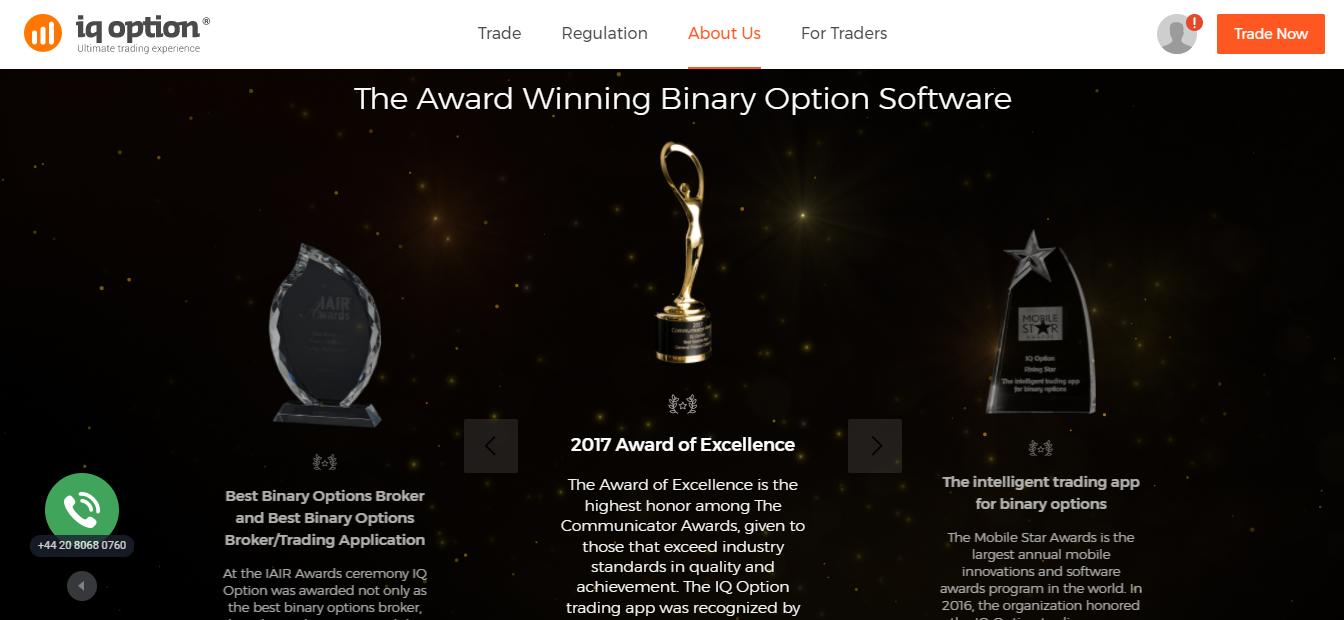 IQ Option Awards