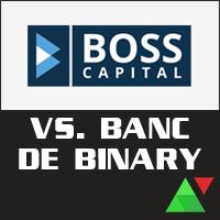 boss capital vs banc de binary who will win it. Black Bedroom Furniture Sets. Home Design Ideas