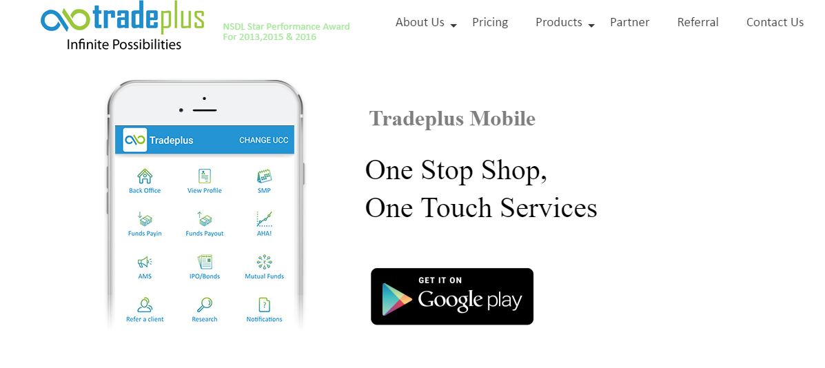 Tradeplus Mobile App