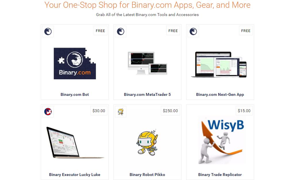 Binary.com Apps