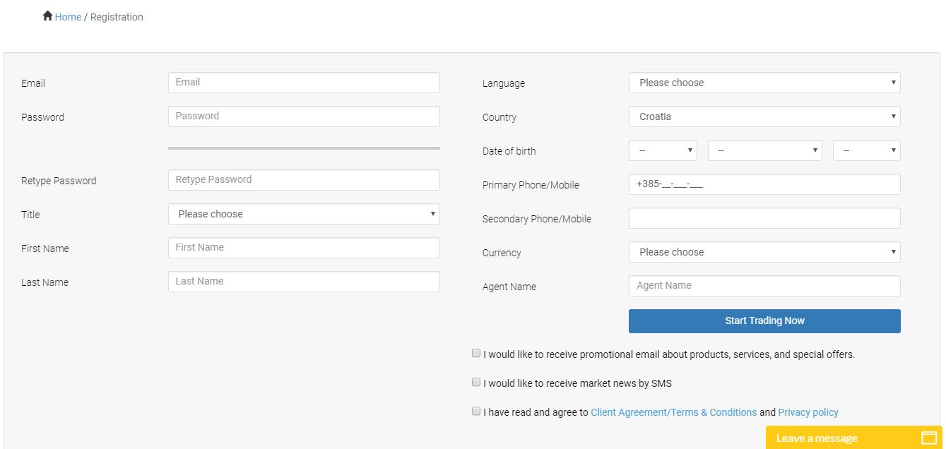 OptionStarsGlobal Registration