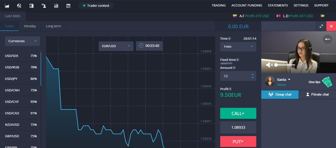 BinaryMate Trading Platform