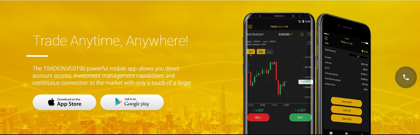 TradeInvest90 Mobile App