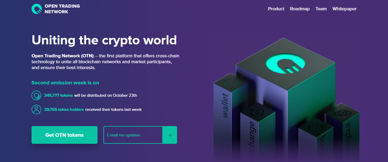 Open Trading Network Home Page