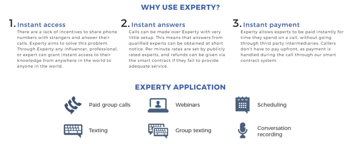 Experty Advantages