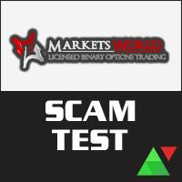 MarketsWorld Scam Test