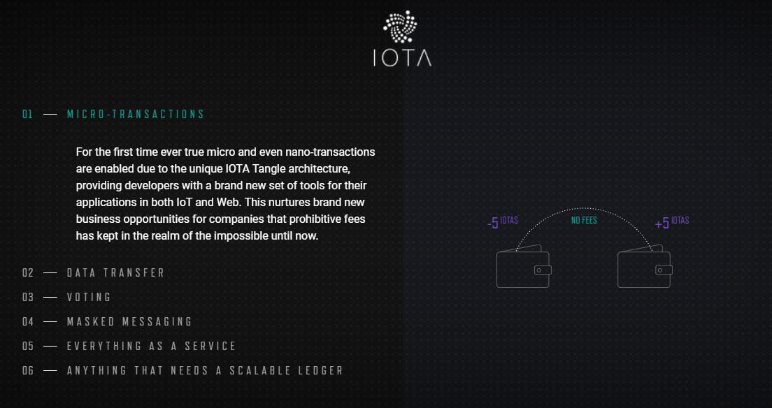 IOTA Features