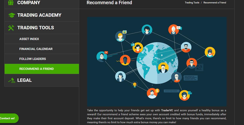 TraderVC Refer A Friend