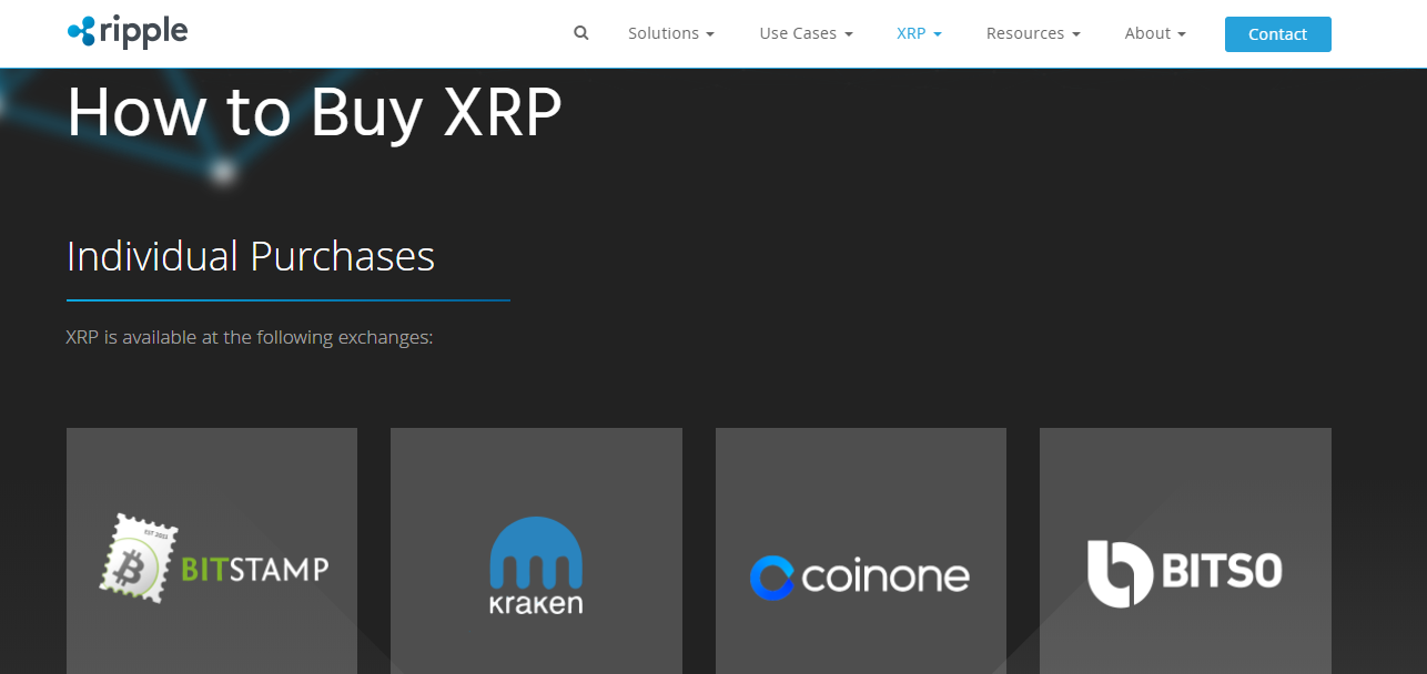 Buy XRP