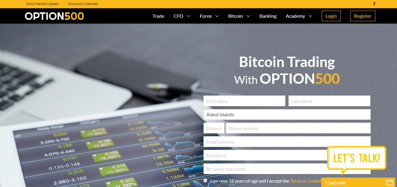 Option500 Home Page