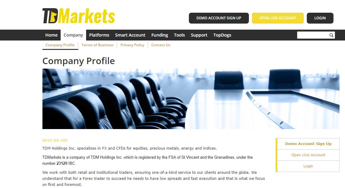 TDMarkets Company Profile