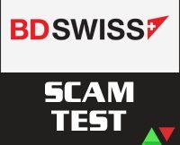 BDSwiss Scam Test