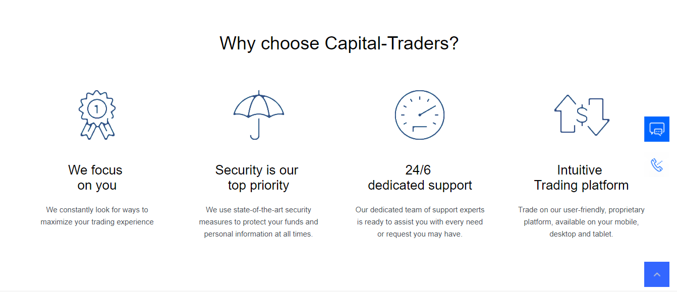 Capital Traders Features