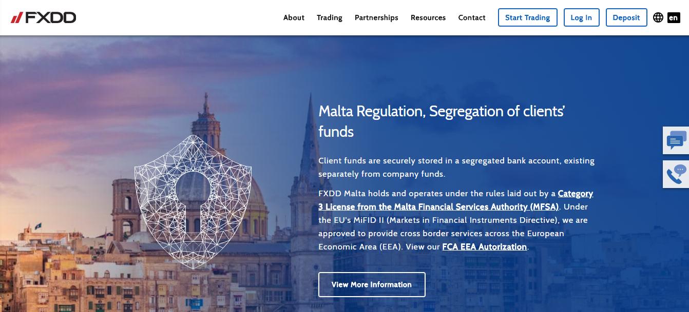 FXDD Regulation