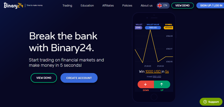 Binary24 Home Page