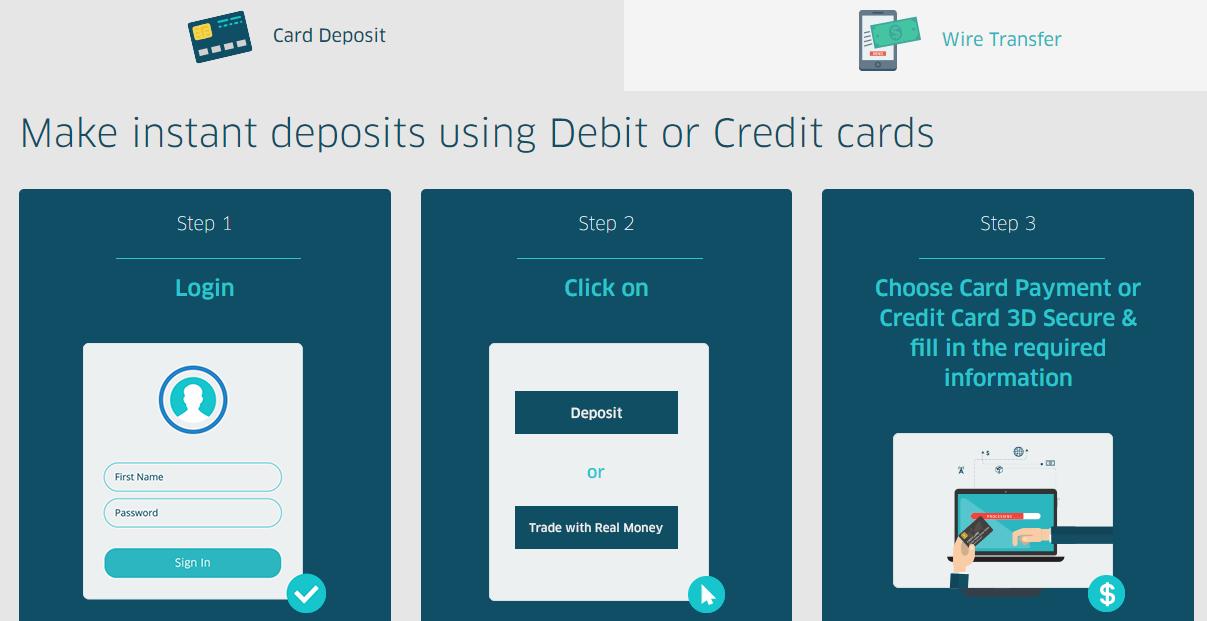Trader.Online Deposit