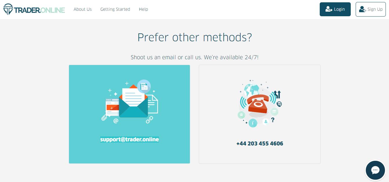 Trader.Online Support