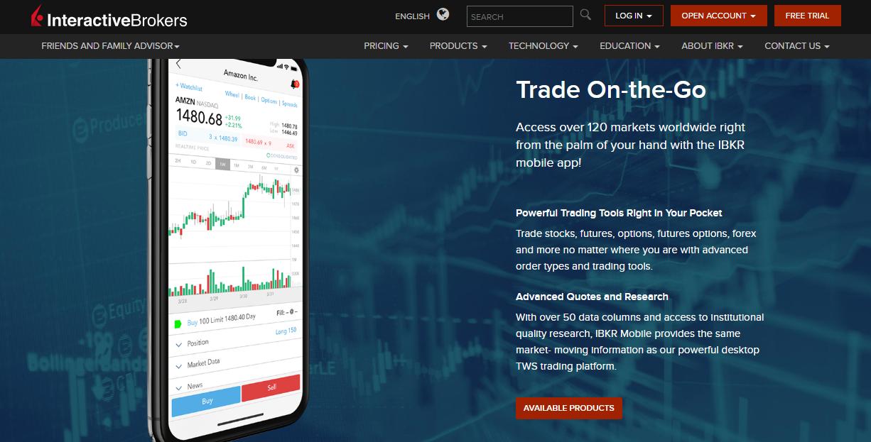 Interactive Brokers Mobile App